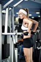 bombeando músculos