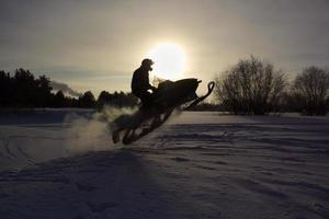 moto de neve foto