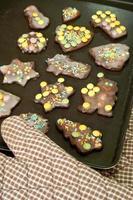 biscoitos felizes foto