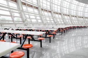 interior de um restaurante foto