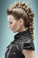 penteado estiloso