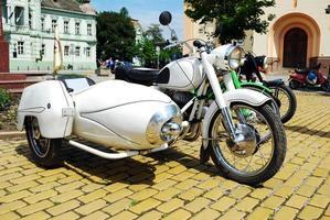 moto vintage foto