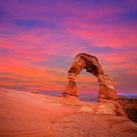 parque nacional arches arco delicado em utá eua