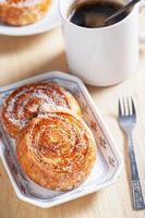 bolo de coco caracol para o café da manhã