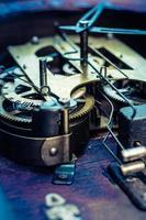 engrenagem do relógio antigo