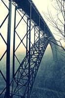 nova ponte do desfiladeiro do rio