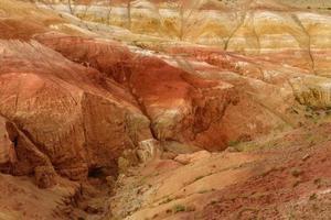 textura de fundo de cor de montanhas foto