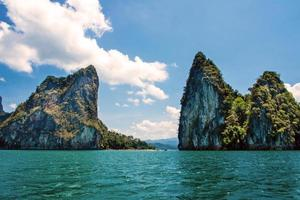 montanha em khao-sok suratthani, tailândia