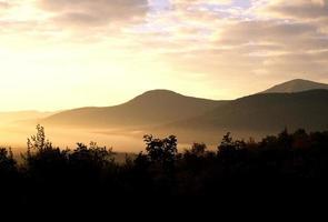 nascer do sol de New Hampshire foto