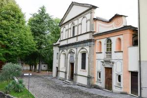 Monte sagrado orta no Piemonte