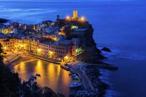 Vernazza na Itália foto