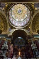st. basílica de Estêvão - Budapeste - detalhe do interior foto