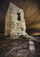 torre de vigia em ruínas