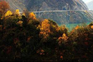 china jiuzhaigou park foto