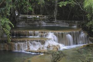 huay mae khamin cachoeira foto