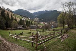 aldeia de montanha foto