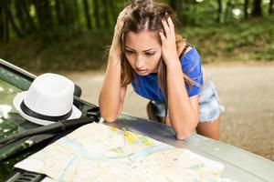 garota perdida na viagem