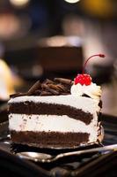 Pedaco de bolo foto