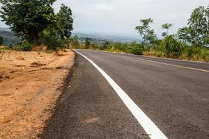 estradas rurais da tailândia foto
