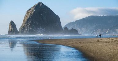 Cannon Beach Oregon Coast, EUA foto
