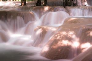Cachoeira Tadsae em Luang Prabang Lao
