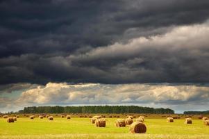 nuvens de tempestade foto
