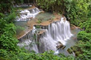 huay mae khamin, cachoeira foto