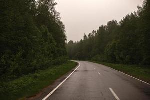 estrada sombria foto