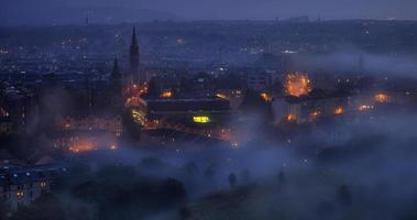 cidade à noite foto