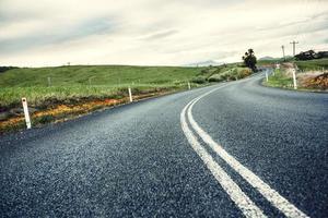 estrada em queensland, austrália foto