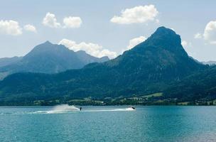 esqui aquático no wolfgangsee