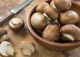 champignon / cogumelo de botão foto