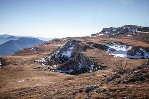 primavera nas montanhas da criméia