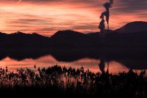 poluição da natureza