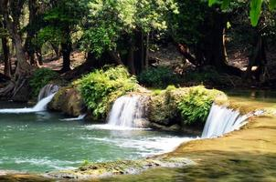 Parque Nacional Cachoeira Num tok Chet São Noi em Saraburi