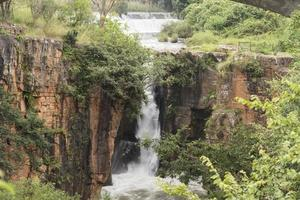 Cachoeira Sabiefalls perto de Sabie foto