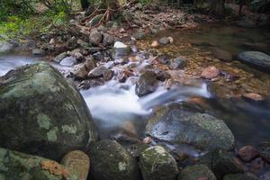 cachoeira khlong pla kang. foto