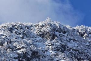montanha rtanj no inverno 15 foto