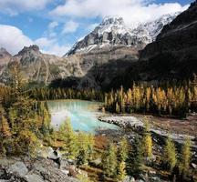 Mount Huber e Opabin Plateau, Parque Nacional Yoho, Canadá