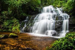 cachoeira mandaeng tailândia, man daeng foto