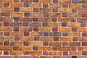 parede de tijolos - textura foto