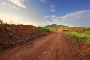 caminho da montanha