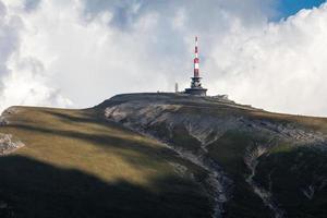 peek da montanha foto