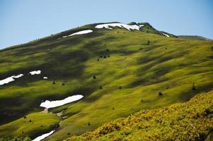 Montanhas carpathian foto