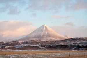Islândia da montanha foto