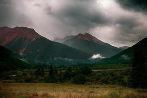 montanha vermelha do colorado foto