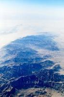 montanhas em cascata