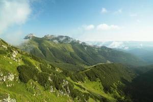 Giewont nas Tatras Polonesas