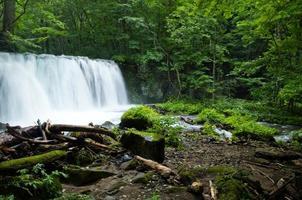 cachoeira do riacho da montanha
