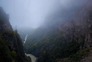 montanhas do cáucaso foto